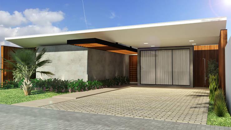 Modern houses by Quattro+ Arquitetura Modern