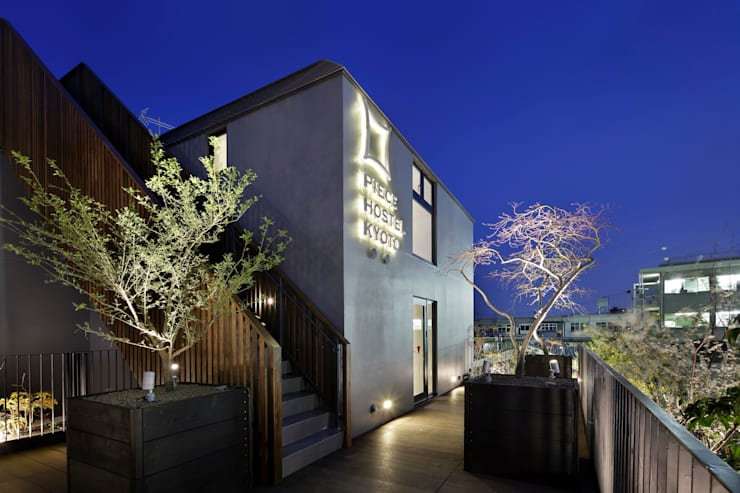 PIECE HOSTEL KYOTO: 加藤淳一建築設計事務所/JUNICHI KATO & ASSOCIATESが手掛けたホテルです。