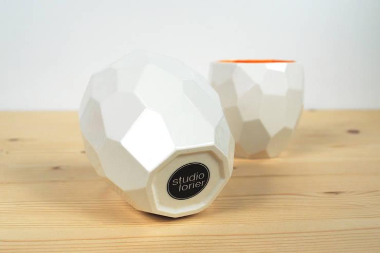 Poligon servies:   door Studio Lorier, Eclectisch