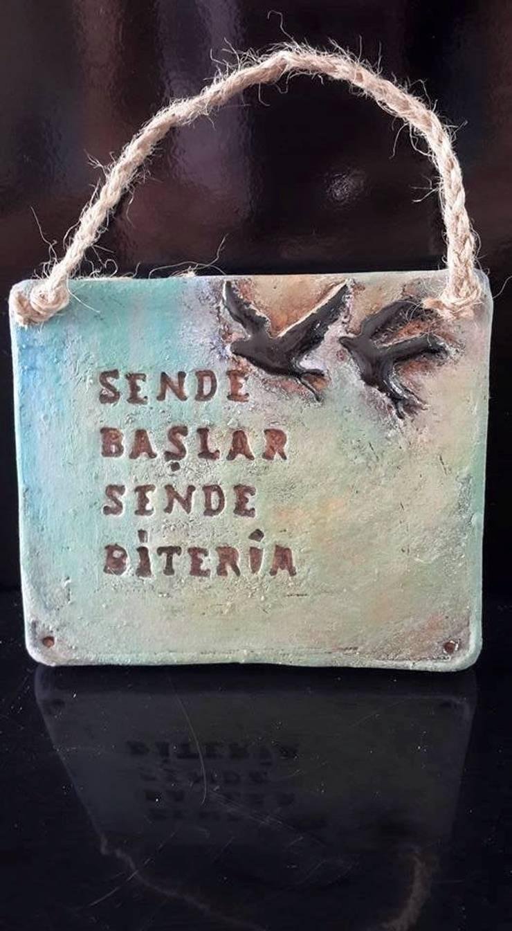 Berna Duman Seramik Atolyesi – Aşk pişti seramik oldu:  tarz İç Dekorasyon