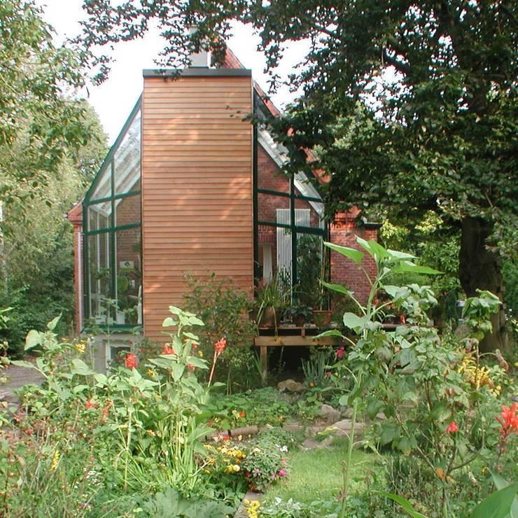 Projekty,  Ogród zimowy zaprojektowane przez Architekt R-M Birkner