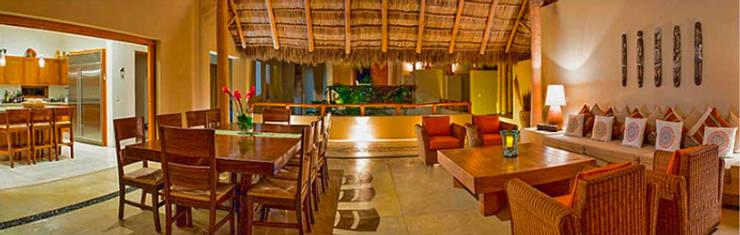 Villa Farallón 14: Salas de estilo  por BR  ARQUITECTOS