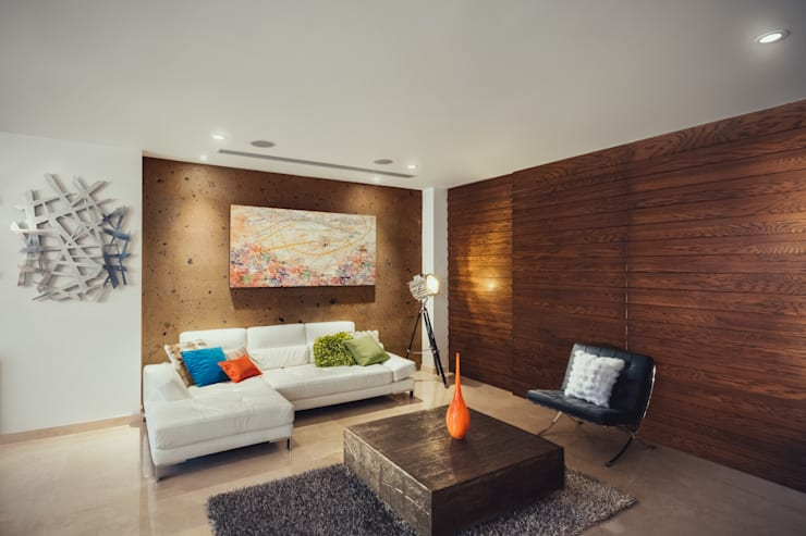 Living room by Imativa Arquitectos