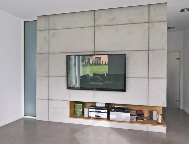 Projekty,  Pokój multimedialny zaprojektowane przez NUX Edward Dylawerski