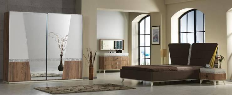 Serhat Mobilya – Hitit Yatak Odası:  tarz Yatak Odası