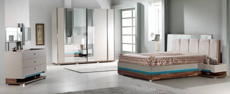 Serhat Mobilya – Via Yatak Odası: modern tarz Yatak Odası