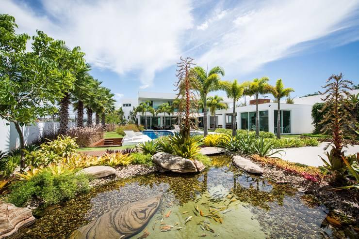 Jardines de estilo  de ricardo pessuto paisagismo