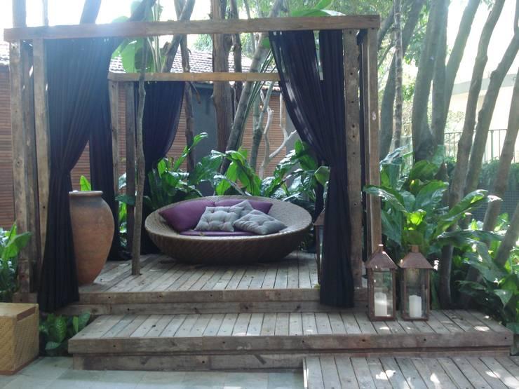 Jardim Casa Cor 2008: Jardins  por ricardo pessuto paisagismo
