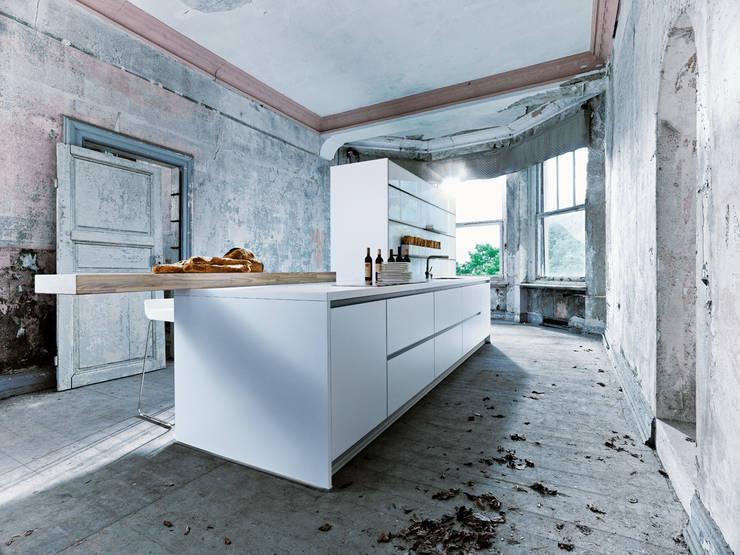 NX800 Polariswit:  Keuken door Eiland de Wild Keukens