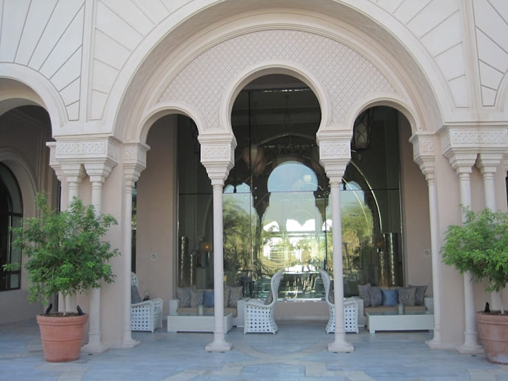 Residential (Royal) Palace at Qatar Doha:  Houses by TOPOS+PARTNERS