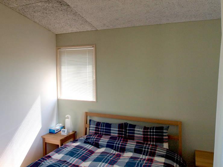 寝室の内装: 大庭建築設計事務所が手掛けた寝室です。