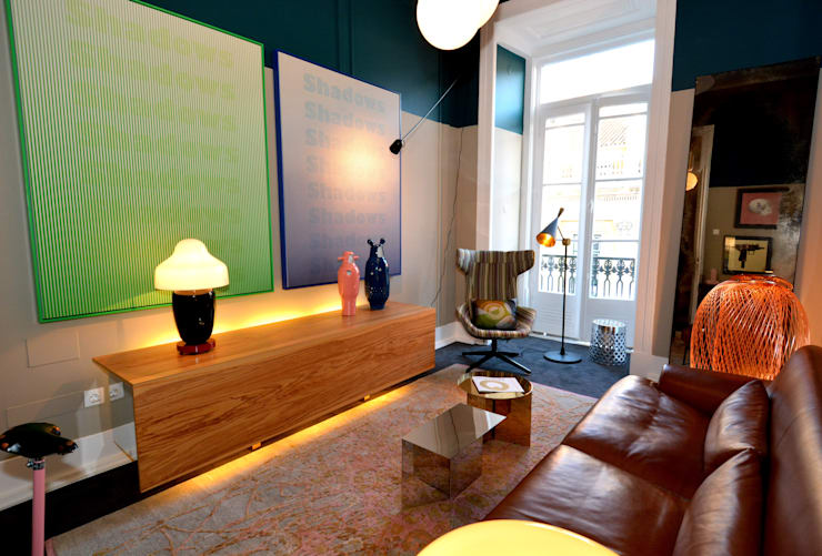 Salones de eventos de estilo  por QuartoSala - Home Culture