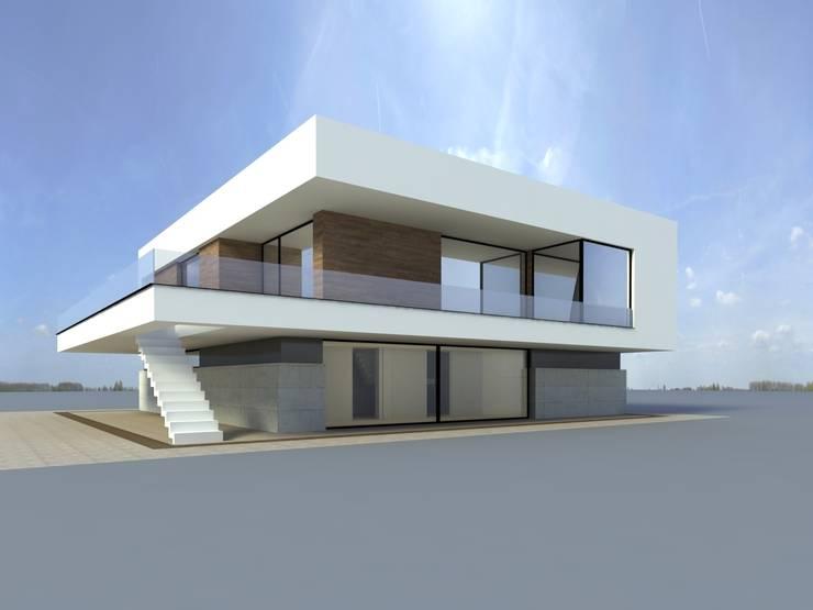 dom w Krakowie _ 1: styl , w kategorii  zaprojektowany przez PRACOWNIA ARCHITEKTONICZNA BARTLOMIEJ K. SITARSKI