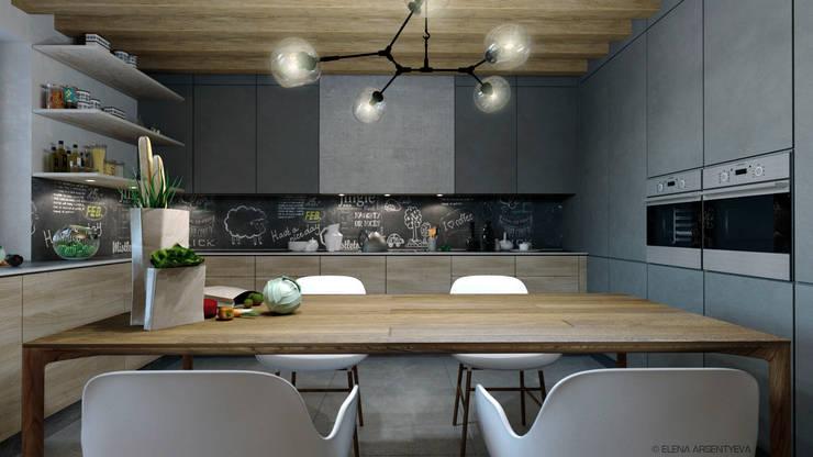 Cocinas de estilo  por Elena Arsentyeva,