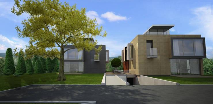 dom w Krakowie _ 2: styl , w kategorii  zaprojektowany przez PRACOWNIA ARCHITEKTONICZNA BARTLOMIEJ K. SITARSKI