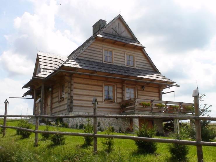 dom Murzasichle: styl , w kategorii  zaprojektowany przez DOMY GORALSKIE