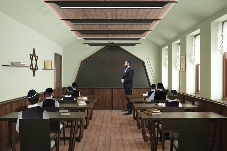 Учебный класс: Школы и учебные заведения  в . Автор – Line In Design