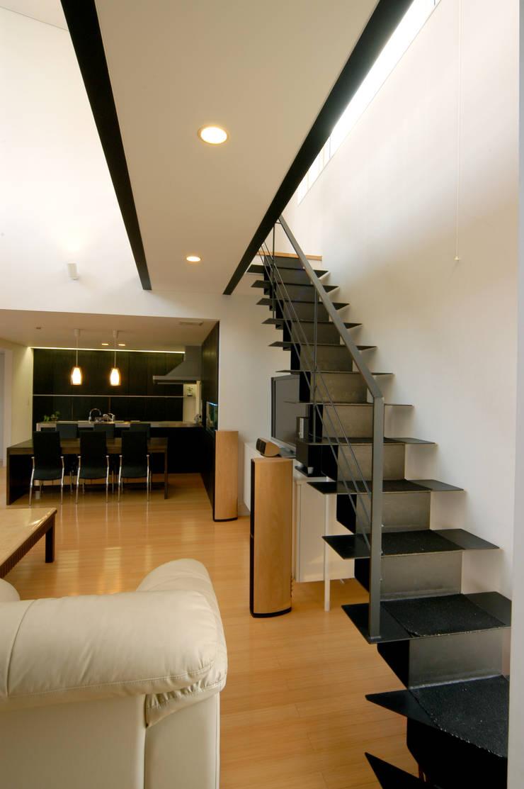 階段 オリジナルスタイルの 玄関&廊下&階段 の space craft オリジナル