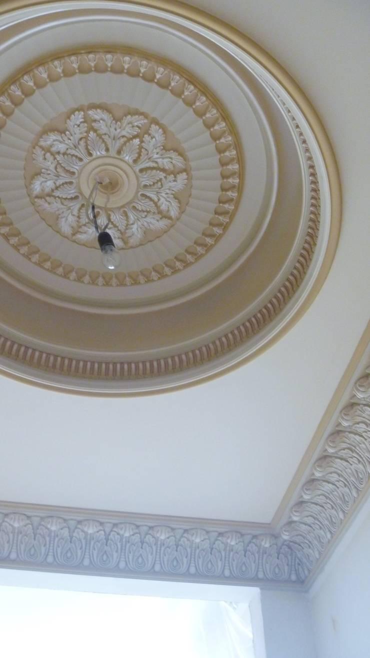Столовая: Столовая комната в . Автор – Line In Design