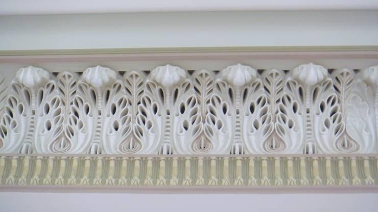 Декоративное оформление гостиной: Гостиная в . Автор – Line In Design
