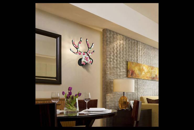 Pons Home Design – Dekoratif Geyik - Pinklive:  tarz Ev İçi