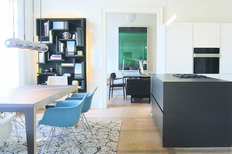 غرفة السفرة تنفيذ destilat Design Studio GmbH