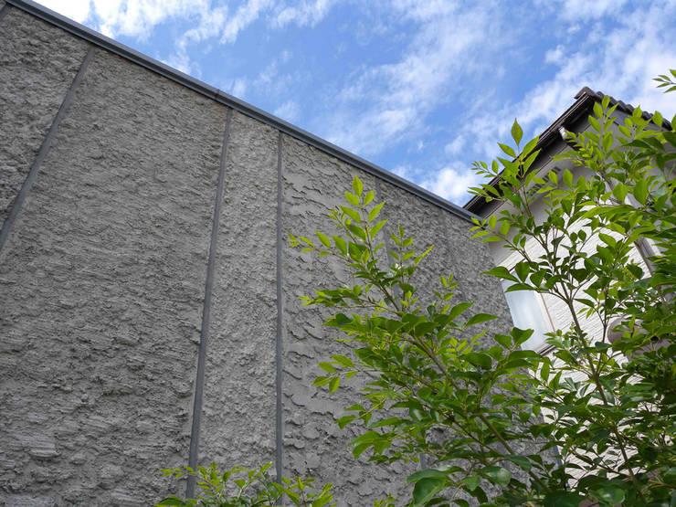 ドイツ壁仕上げ: 篠田 望デザイン一級建築士事務所が手掛けた家です。