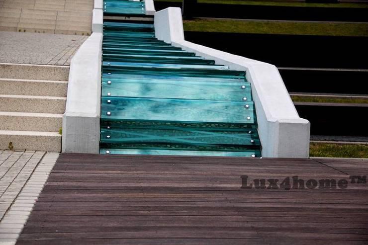 Ścieżki z otoczaków - mozaiki kamienne otoczaki w ogrodzie.: styl , w kategorii Ogród zaprojektowany przez Lux4home™,