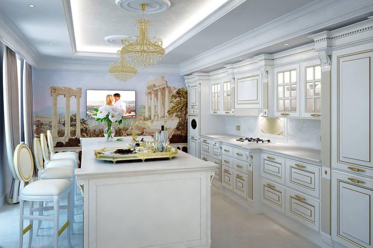 Кухня: Кухни в . Автор – Частный дизайнер,