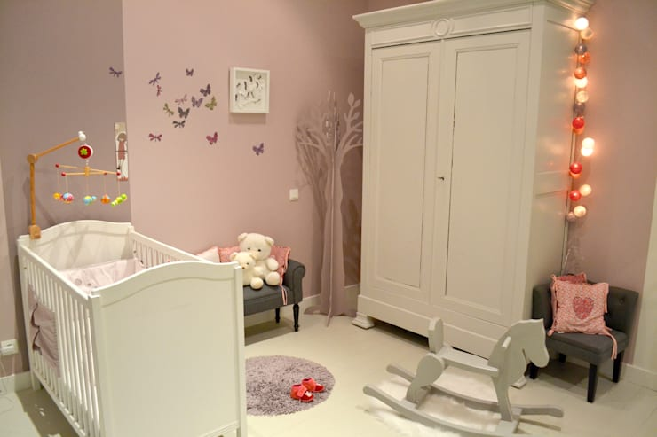 Nursery/kid's room by Courants Libres