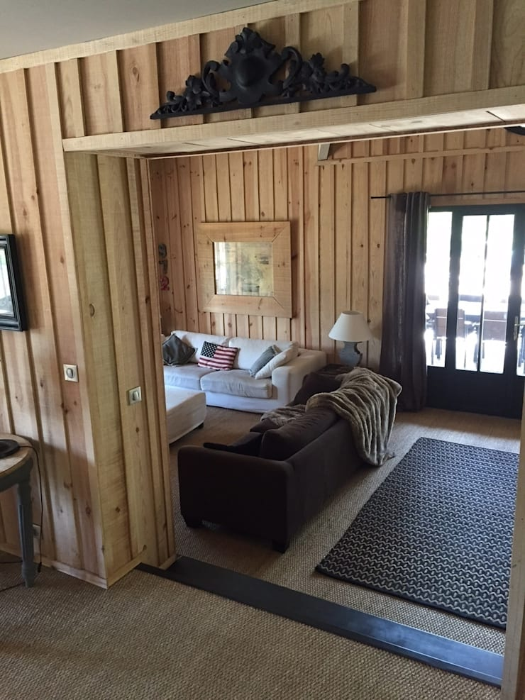 Ruang Keluarga oleh Concept Home Setting , Eklektik