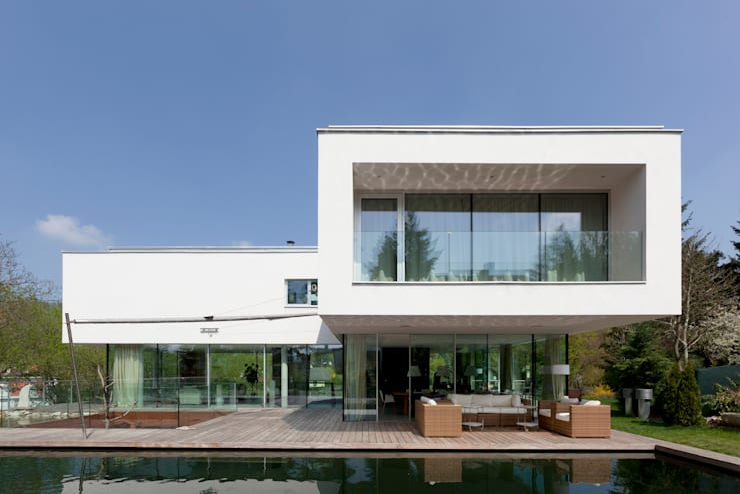 Projekty,  Domy zaprojektowane przez Architekt Zoran Bodrozic