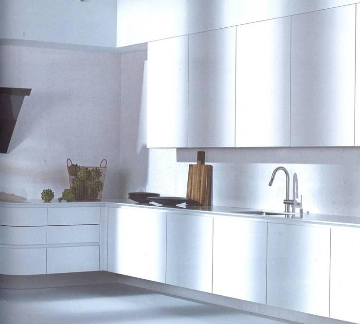 NX501 hoogglanslak Wit :  Keuken door Eiland de Wild Keukens