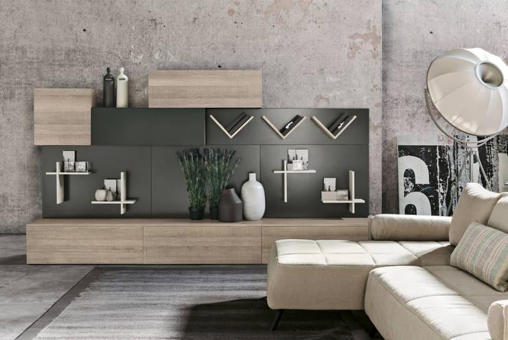 Magnetika living M03: Soggiorno in stile in stile Moderno di Ronda Design