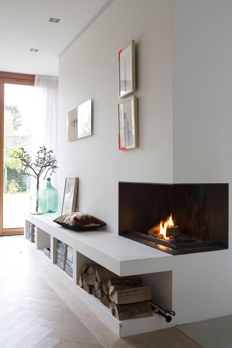 Modern Living Room by Boks architectuur Modern