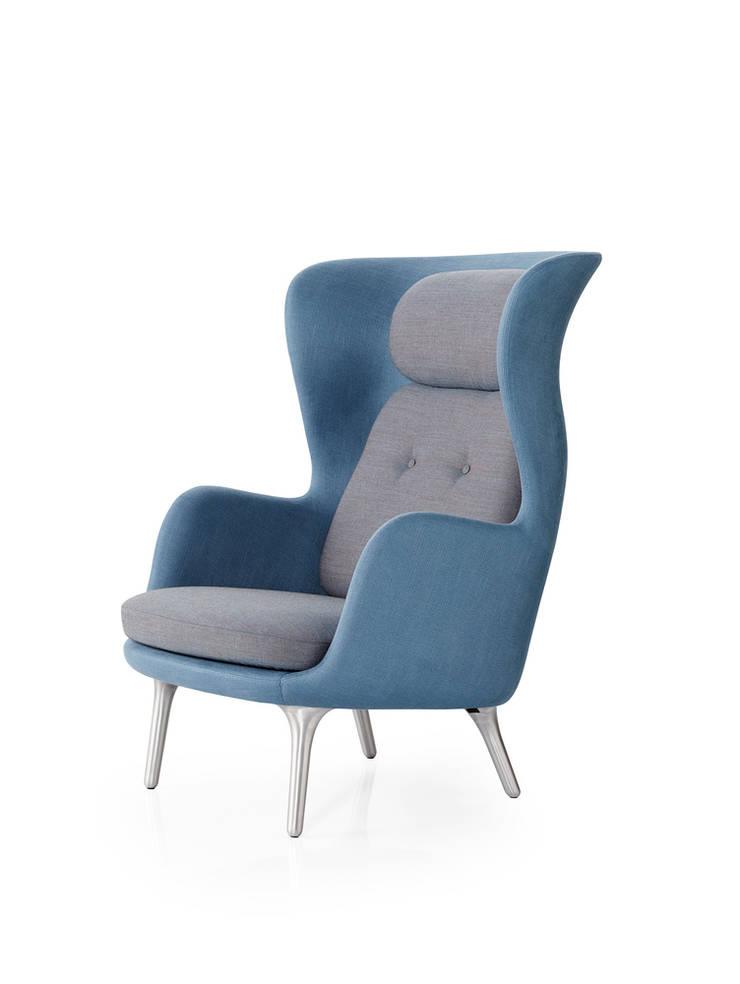 Fotel Ro, Fritz Hansen: styl , w kategorii  zaprojektowany przez Mootic Design Store ,Skandynawski