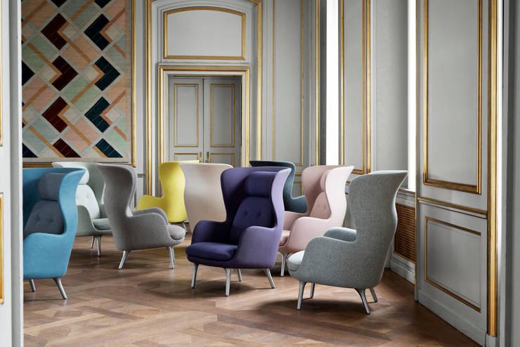 Fotel Ro, Fritz Hansen : styl , w kategorii  zaprojektowany przez Mootic Design Store ,Skandynawski