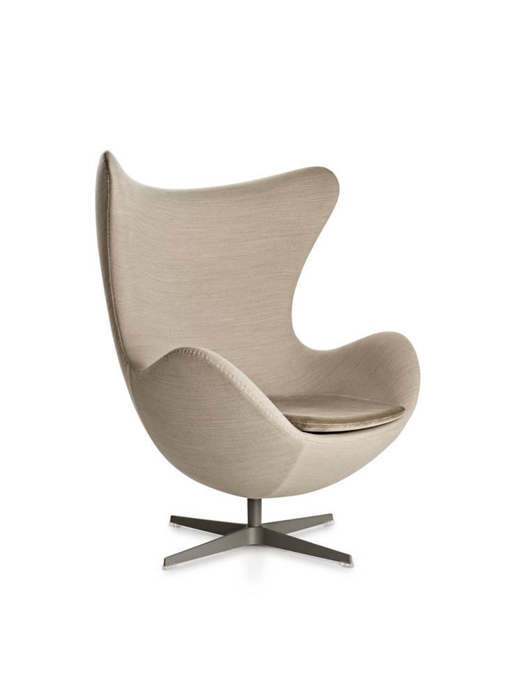 fotel Egg, Fritz Hansen : styl , w kategorii Salon zaprojektowany przez Mootic Design Store