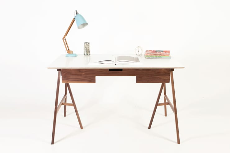 PLAN DESK: modern Study/office by JAMES TATTERSALL