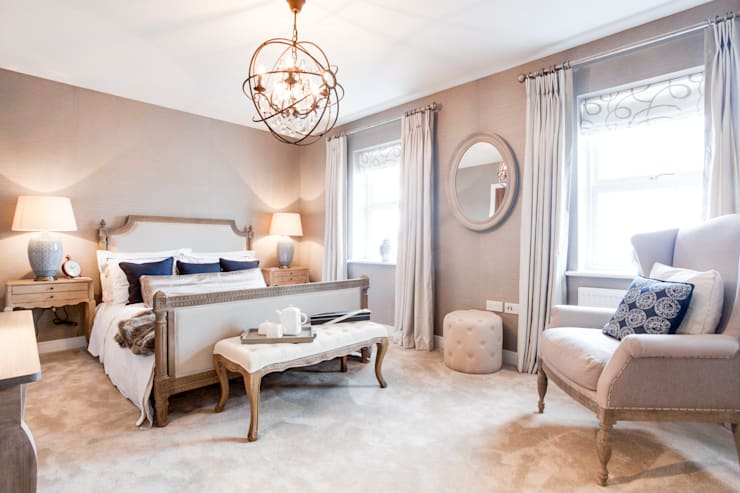 Montford Place:  Bedroom by Etre