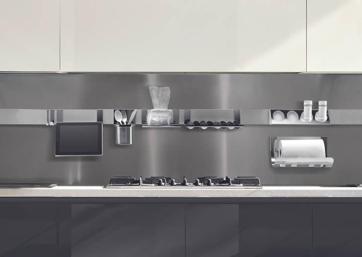 Magnetika kitchen - collezione Sofia: Cucina in stile in stile Minimalista di Ronda Design