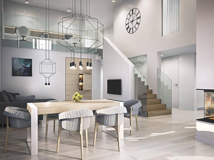 Dining room by Kunkiewicz Architekci