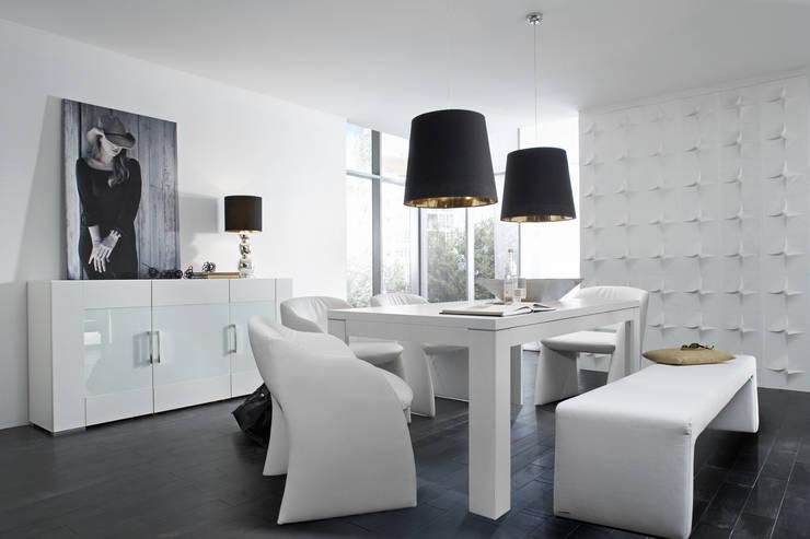 Mesa de Comedor Blanco: Comedor de estilo  de Livingo España