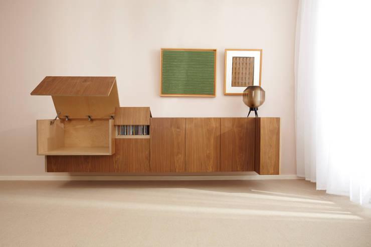 Dressoir :  Eetkamer door Marlies van Geenen, Meubelwerkplaats, Modern