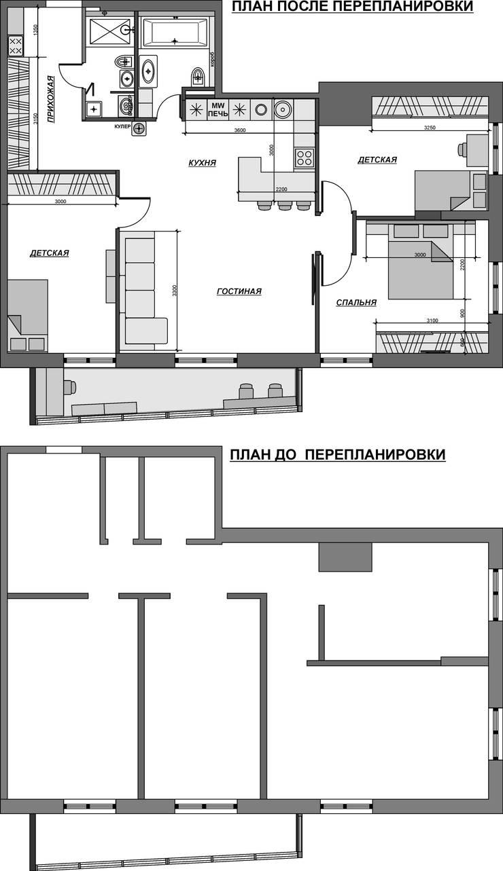 Кухня в современном стиле:  в . Автор – Гурьянова Наталья