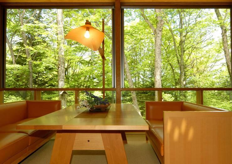 窓: space craftが手掛けた窓です。,オリジナル 木 木目調