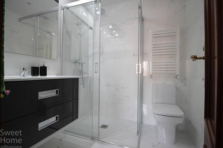Baño en Deusto, Bilbao: Baños de estilo  de Sweet Home Interiorismo