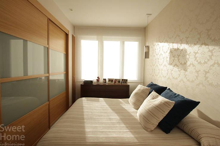 غرفة نوم تنفيذ Sweet Home Interiorismo