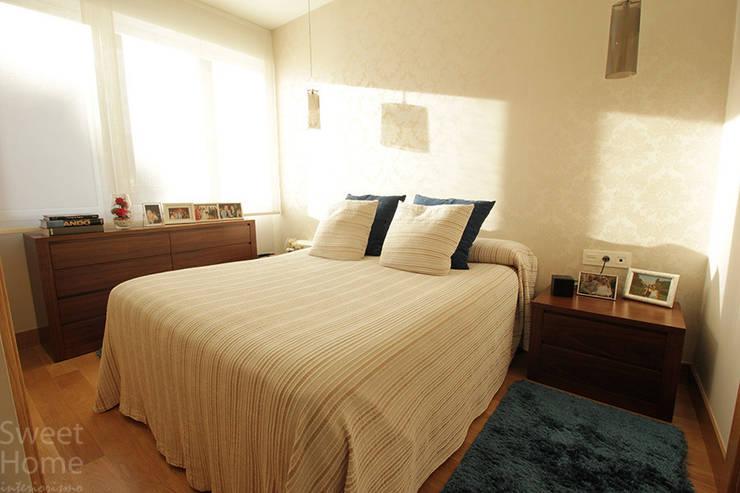 Vivienda en Santutxu, Bilbao: Dormitorios de estilo  de Sweet Home Interiorismo