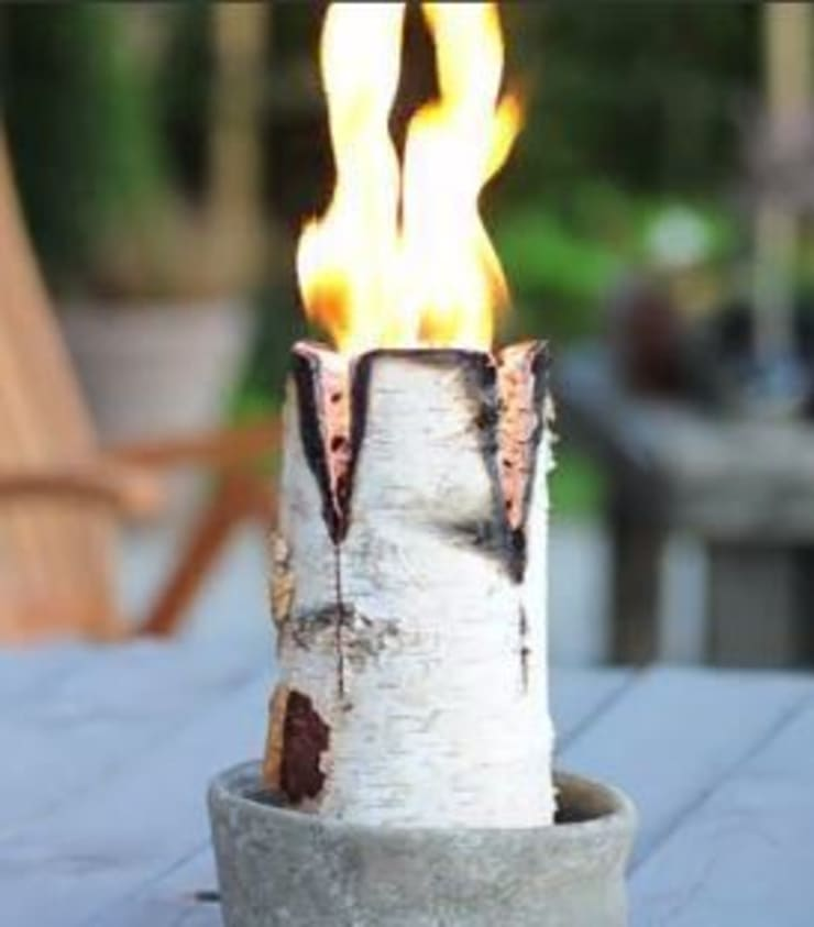 Nordic Candle Logs:  Garden  by Greige